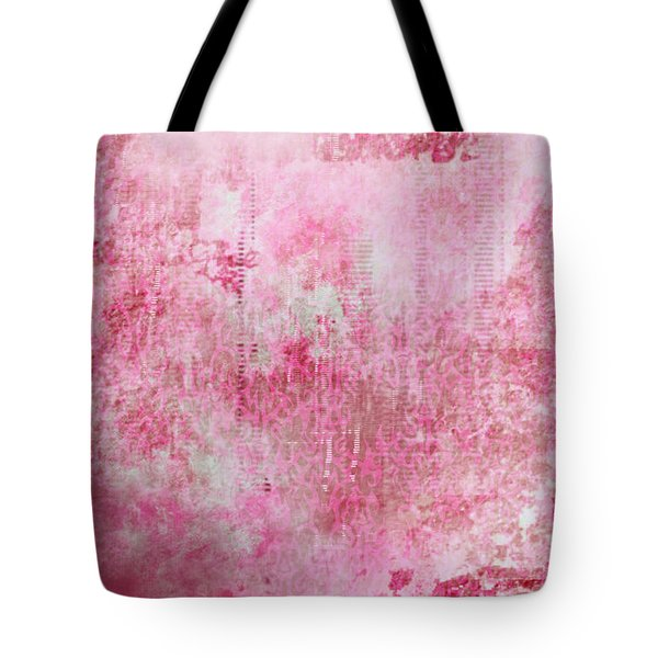 Pink Lady Tote Bag by Christopher Gaston