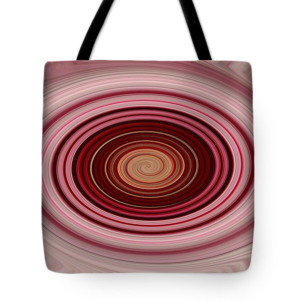 Pink Vortex Tote Bag by Aimee L Maher Photography and Art