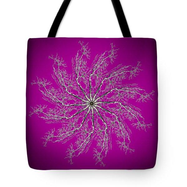 Pinwheel IIi Tote Bag by Debra and Dave Vanderlaan