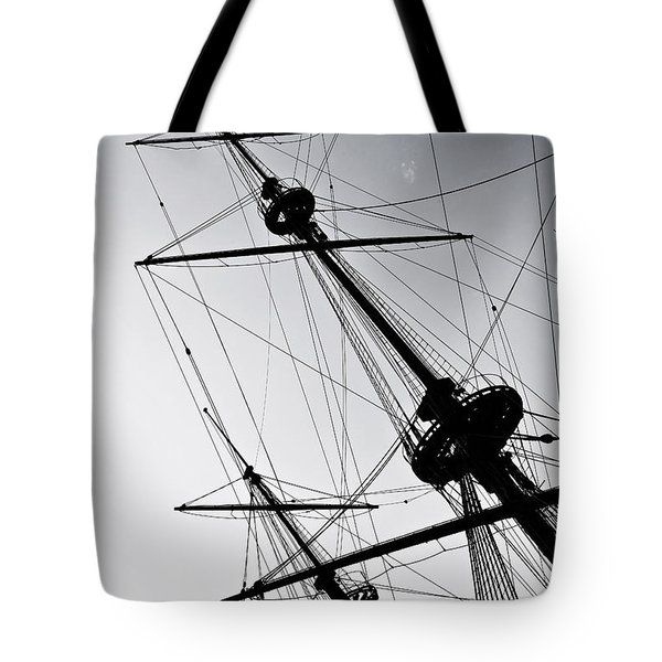 Pirate Ship Tote Bag by Joana Kruse