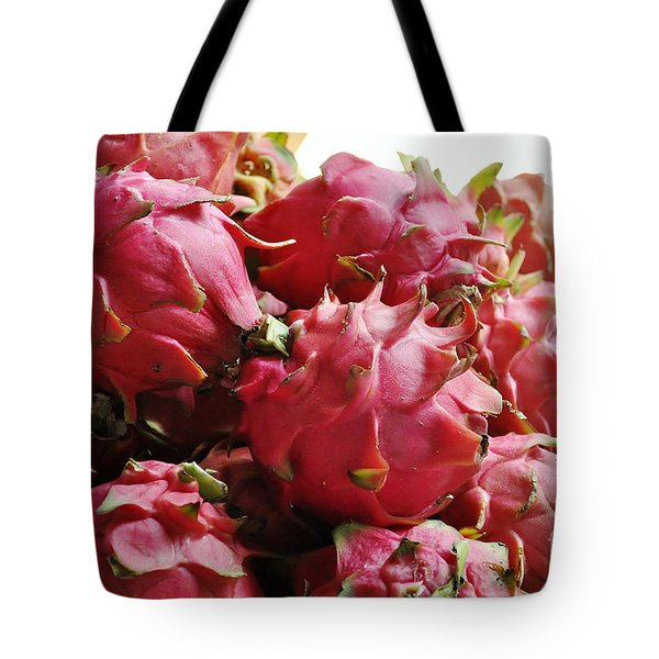 Pitaya- Dragon Fruit Tote Bag by Li Newton
