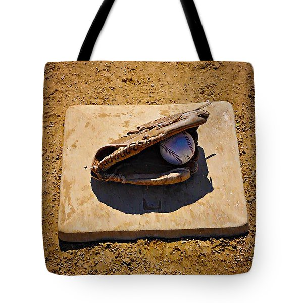 Play Ball Tote Bag by Bill Cannon