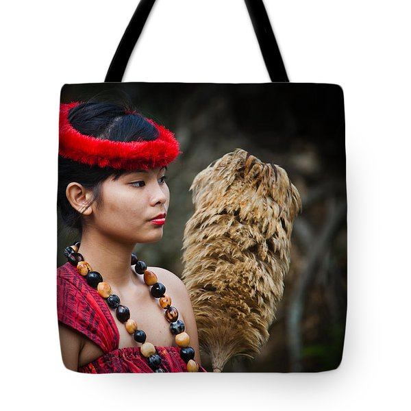 Polynesian Beauty Tote Bag by Ralf Kaiser