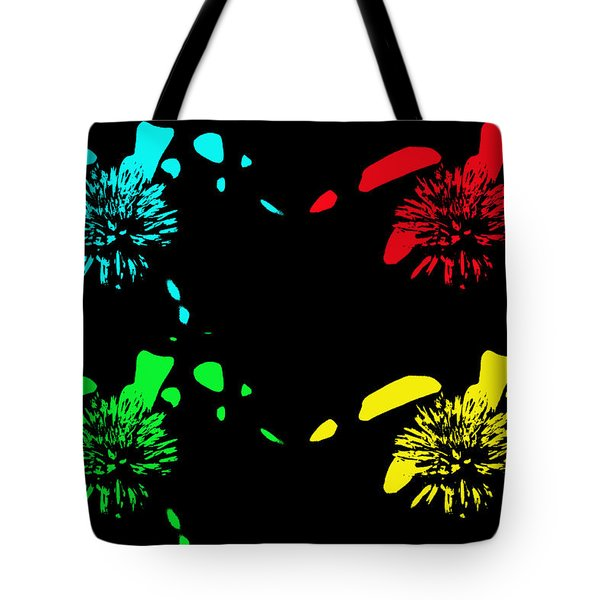 Pom Pom Pop Art Tote Bag by Aimee L Maher Photography and Art