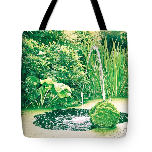 Pond Tote Bag by Tom Gowanlock