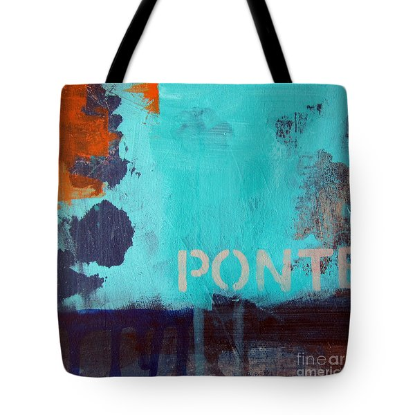 Ponte Tote Bag by Linda Woods