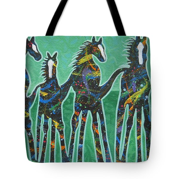 Pony Pastures Tote Bag by Lance Headlee