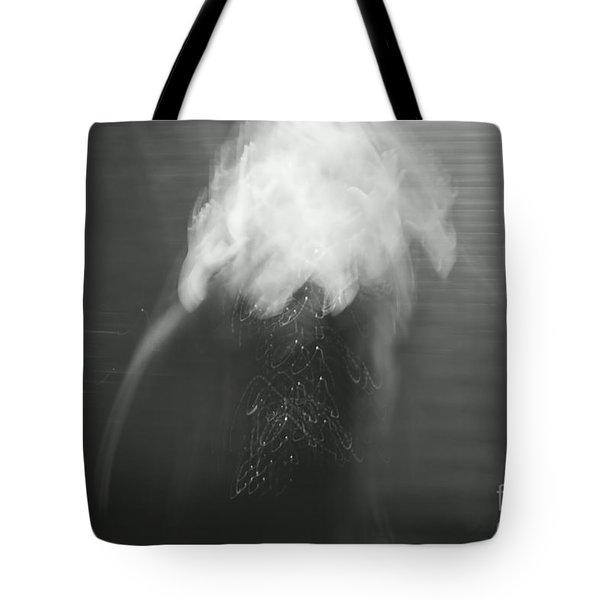 Poof - bw Tote Bag by Aimelle
