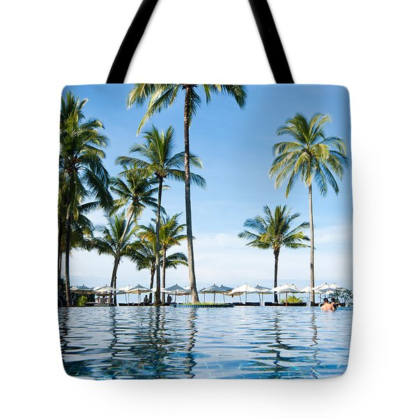 Poolside Tote Bag by Atiketta Sangasaeng