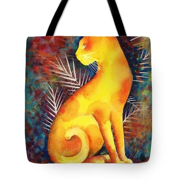 Popoki Hulali Tote Bag by Frances Ku