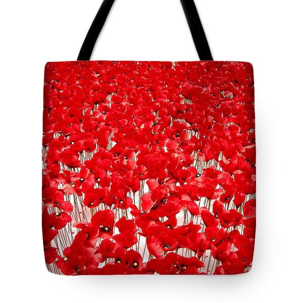 Poppy Meadow ... Tote Bag by Juergen Weiss