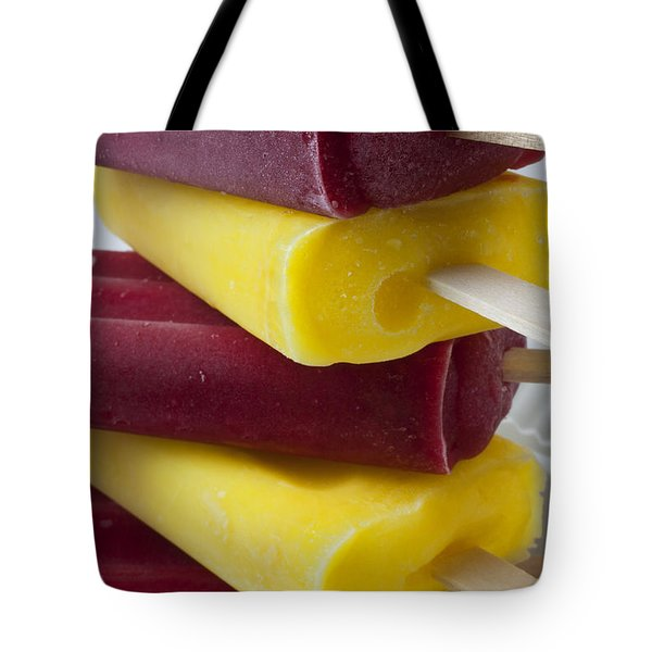 Popsicle Ice Cream Tote Bag by Garry Gay