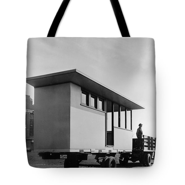 Portable Housing, C1938 Tote Bag by Granger