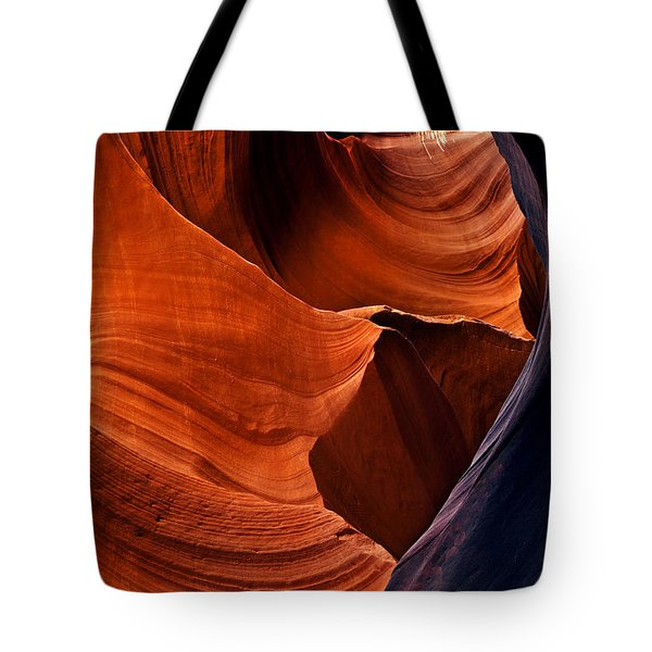 Portal Of The Sun Tote Bag by Mike  Dawson