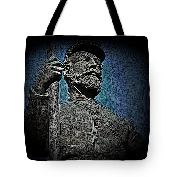 Portrait 30 American Civil War Tote Bag by David Dehner