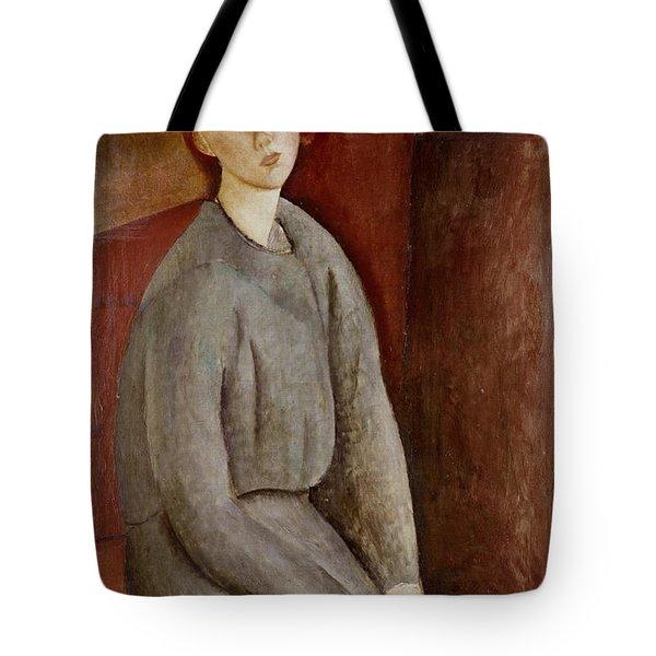 Portrait Of Annie Bjarne Tote Bag by Amedeo Modigliani