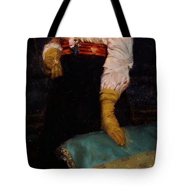 Portrait Of Miss Macwirter Tote Bag by Sir Lawrence Alma-Tadema