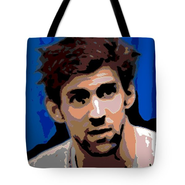 Portrait Of Phelps Tote Bag by George Pedro