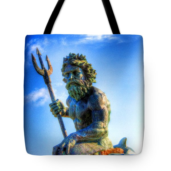 Poseidon Tote Bag by Dan Stone