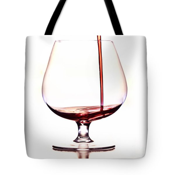 pouring wine Tote Bag by Michal Boubin