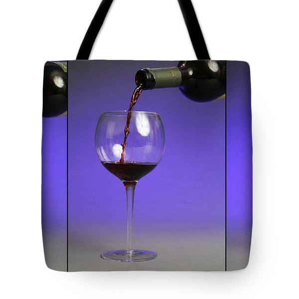 Pouring Wine Tote Bag by Photo Researchers, Inc.