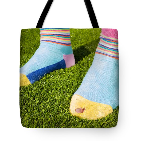 Poverty Tote Bag by Semmick Photo