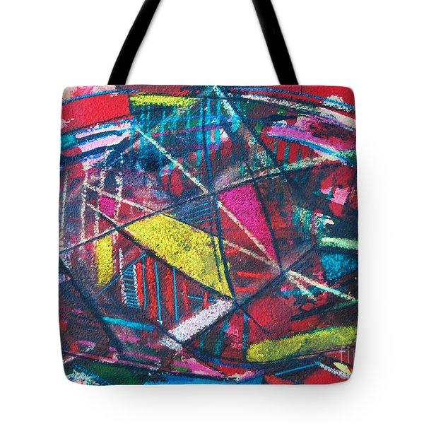 Powder Dreams Tote Bag by Ana Maria Edulescu