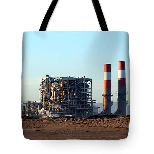 Power Station Tote Bag by Henrik Lehnerer