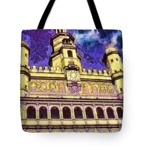 Poznan City Hall Tote Bag by Mo T