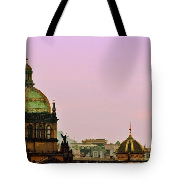 Prague - A Living Fairytale Tote Bag by Christine Till