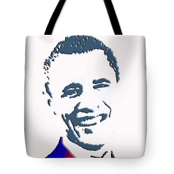 president of the United States Tote Bag by Robert Margetts