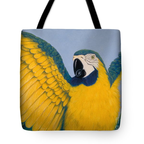 Pretty Bird Tote Bag by Audrey Peaty