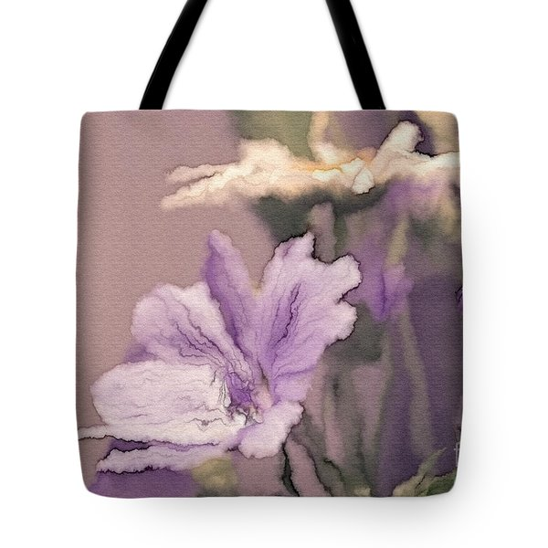 Pretty Bouquet - A05t01 Tote Bag by Variance Collections