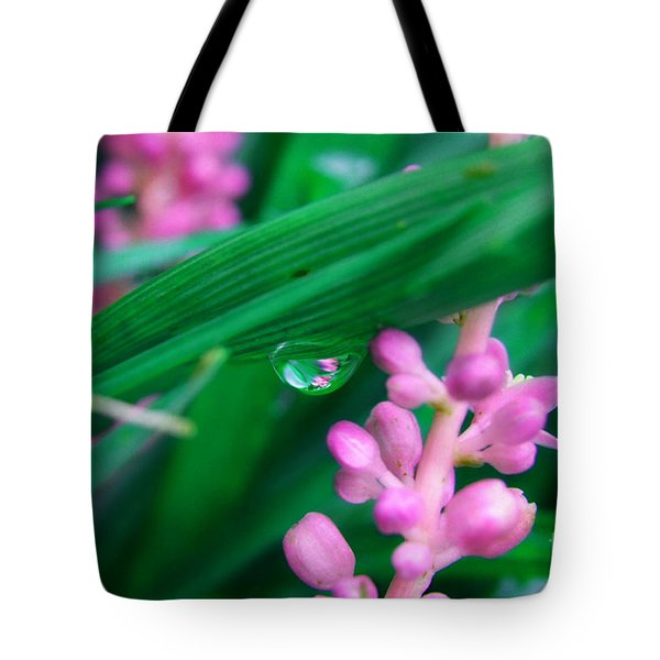 Pretty In Pink  Tote Bag by Peggy  Franz