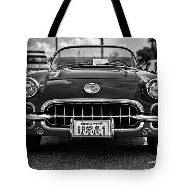 Pretty In Red - Bw Tote Bag by Christopher Holmes