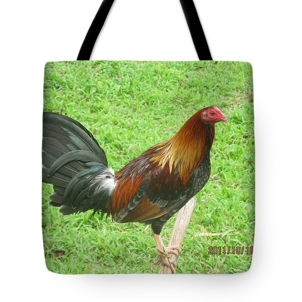 Pretty Plumes Tote Bag by Tina M Wenger