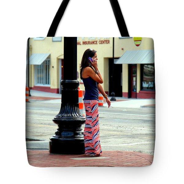 Pretty Woman Tote Bag by Karen Wiles