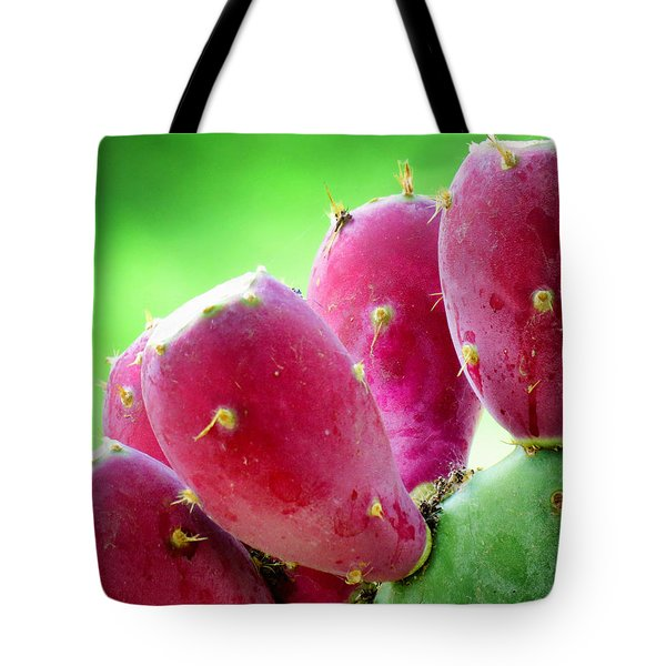 Prickly Pear Tote Bag by Diane Wood