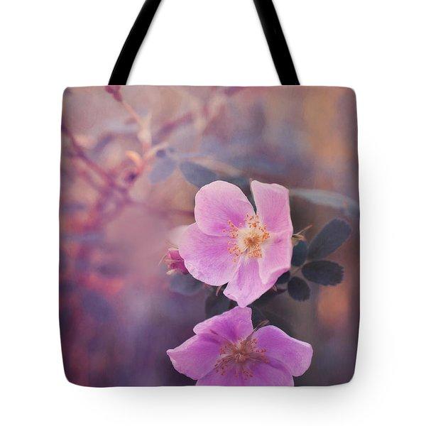 prickly rose Tote Bag by Priska Wettstein