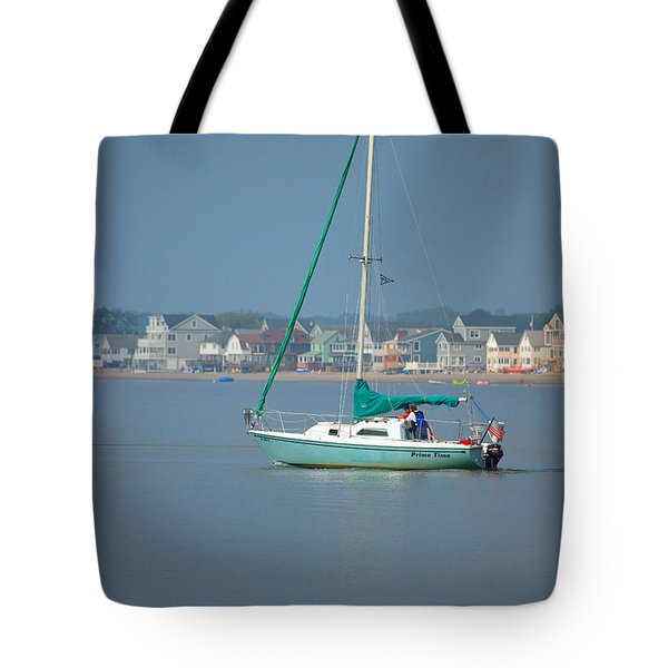 Prime Time Tote Bag by Karol Livote