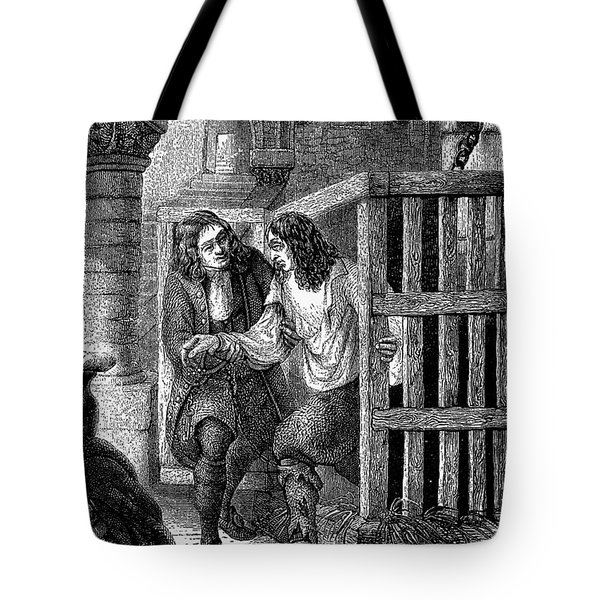 Prison: Cage, 17th Century Tote Bag by Granger