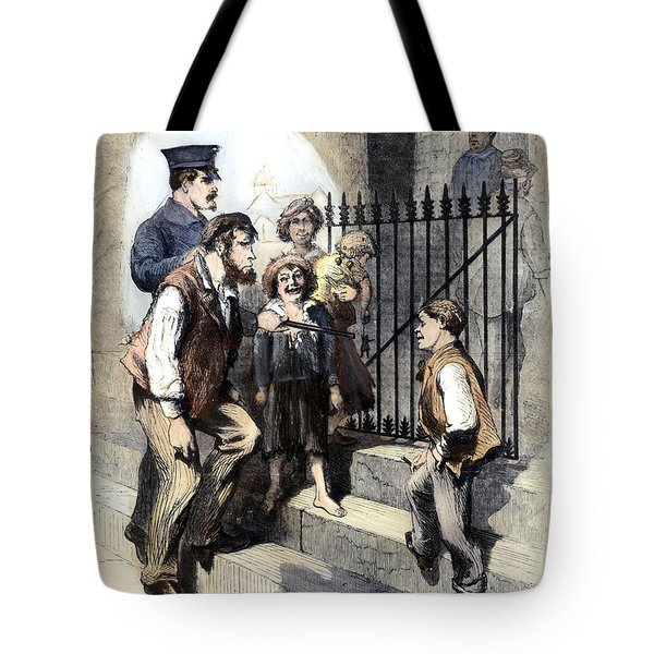 Prison: The Tombs, 1868 Tote Bag by Granger