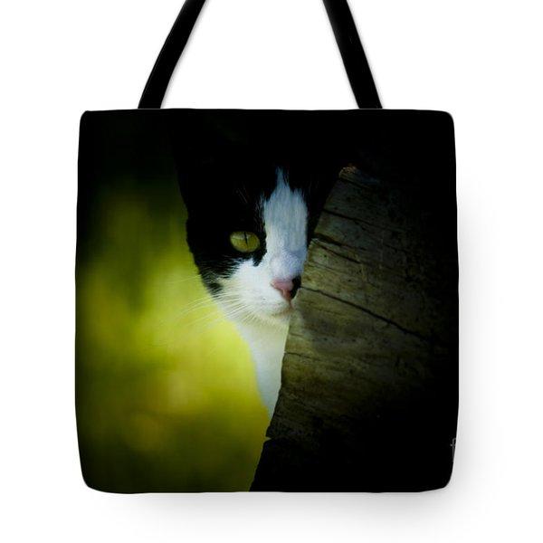 Privacy Please Tote Bag by Kim Henderson