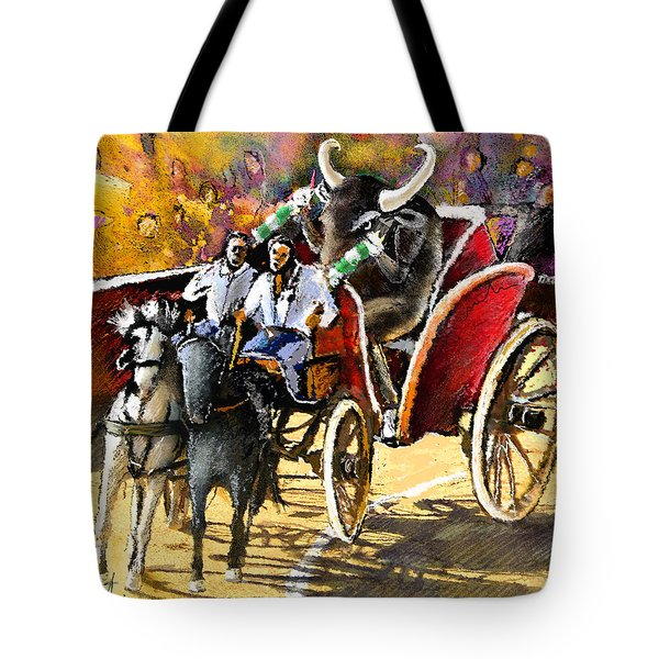 Proba Bull Cause Tote Bag by Miki De Goodaboom