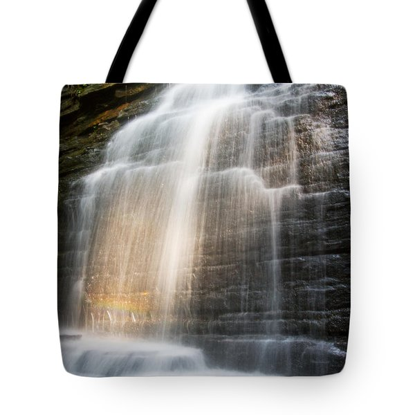 Promise Falls Tote Bag by Debra and Dave Vanderlaan