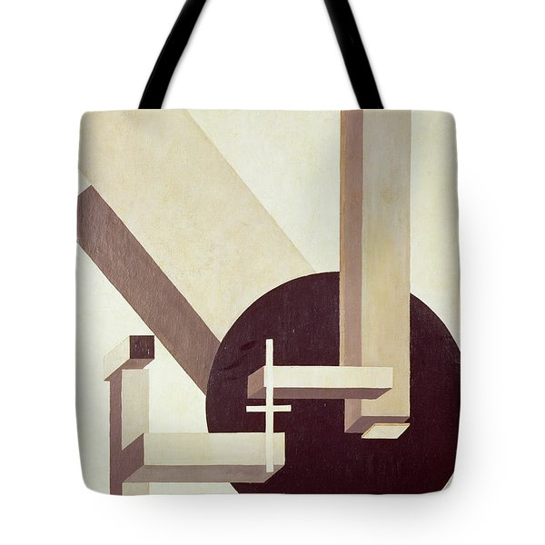 Proun 10 Tote Bag by El Lissitzky