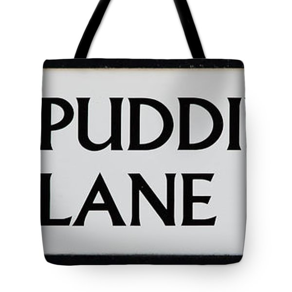 Pudding Lane Tote Bag by Dawn OConnor