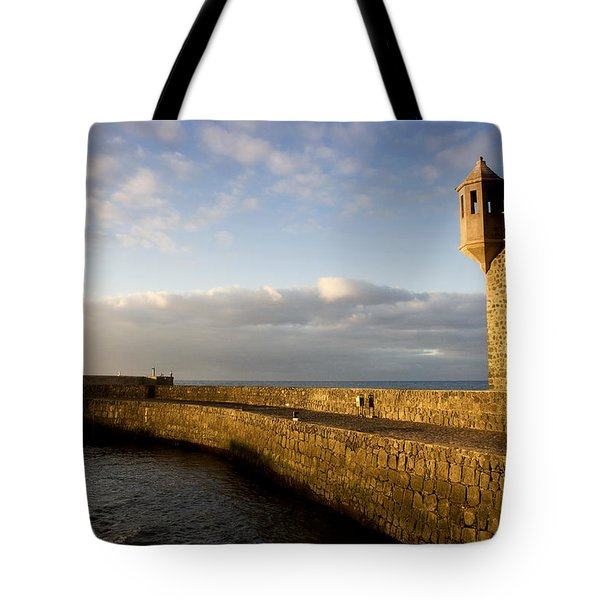 Puerto De La Cruz - Tenerife - Canary Island - Spain Tote Bag by Fabrizio Troiani