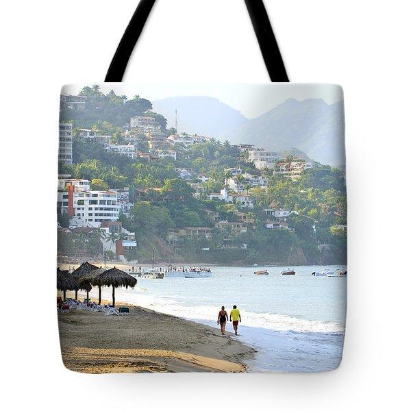 Puerto Vallarta Beach Tote Bag by Elena Elisseeva