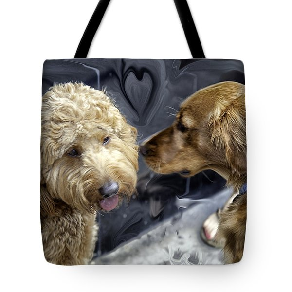 Puppy Love Tote Bag by Madeline Ellis